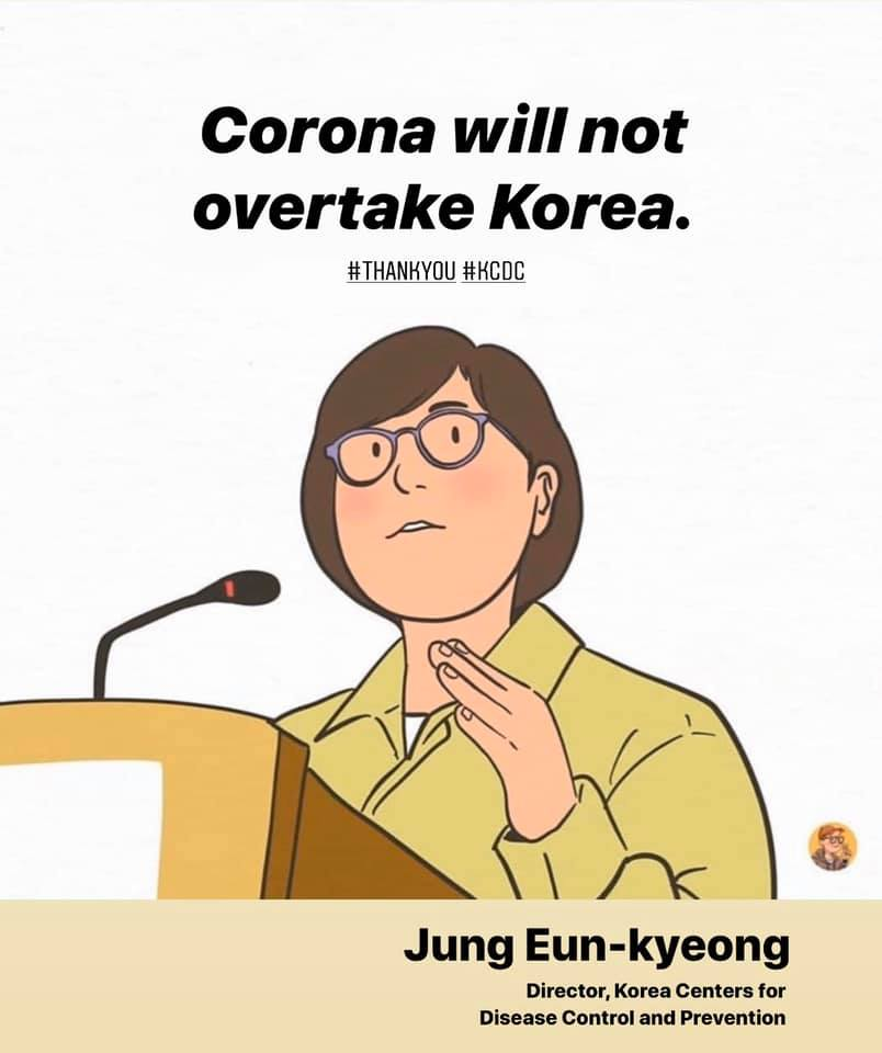 Corona will not overtake south Korea
